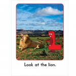 AlphaBooks HD - Look at the Lion