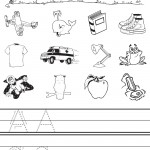 Letter Buddies Initial Sounds Worksheet - A