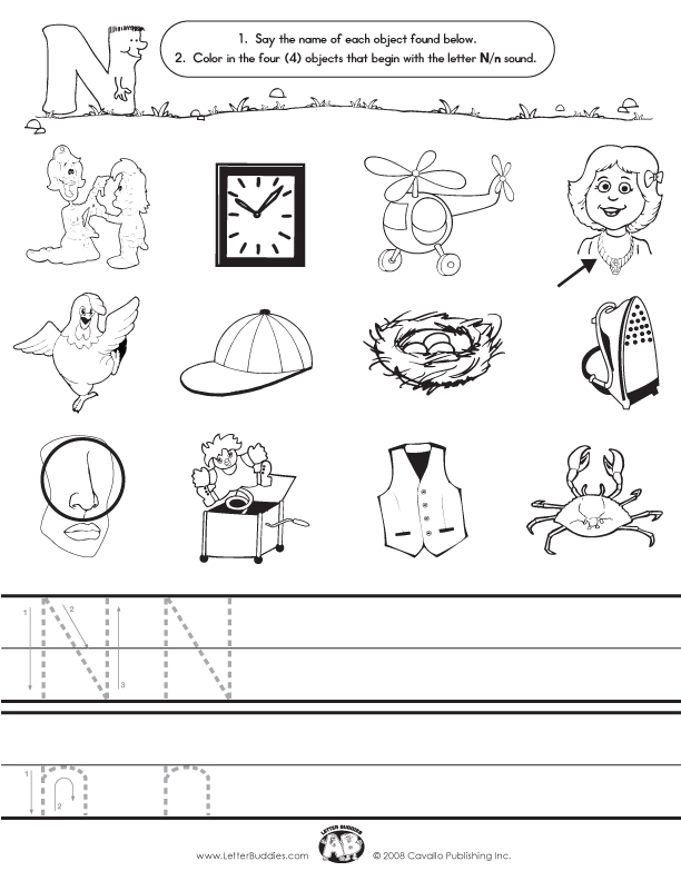 math worksheet : letter n worksheets  d\u0027nealian letter n worksheets due to  : Letter N Worksheets Kindergarten