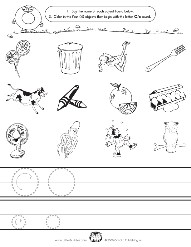 Prefix And Suffix Worksheets – Letter O Worksheet
