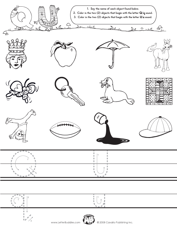 ... Worksheets Things That Start With Q Along With Ph Words Worksheets