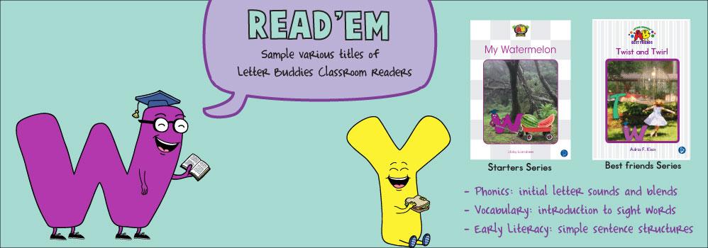 Home – Letter Buddies Books – Read'em Slider
