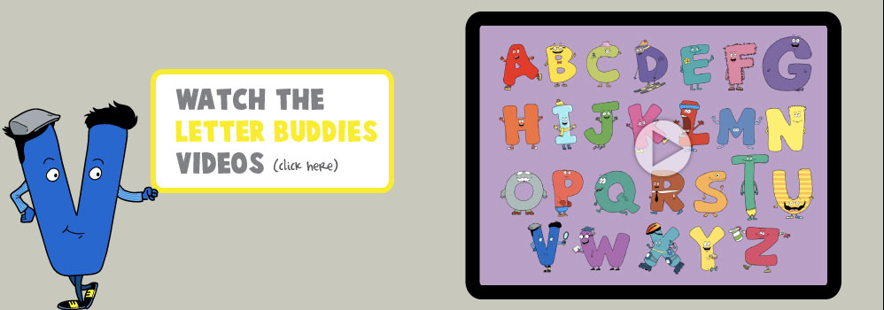 Home – Letter Buddies Videos Slide