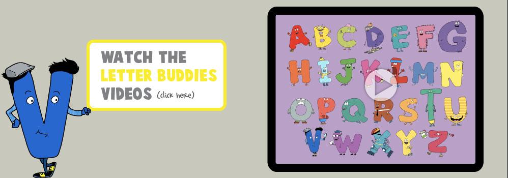 Home – Letter Buddies Videos Slide