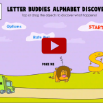 Letter Buddies Alphabet Discovery Trailer Screenshot