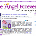 The Angel Forever Reviews Letter Buddies Alphabet Discovery